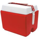 Caixa Térmica Termolar, 24 Litros - Vermelha