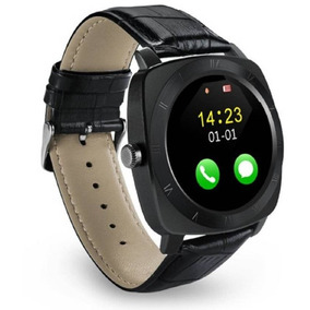 Reloj Smart Watch X3 Solo Bluetooth Vinilo Diseño Metálico