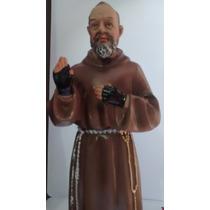 Imagem Do Padre Pio Com 33 Cm