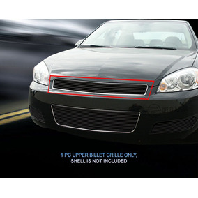 Parrilla Billet Negra Chevrolet Impala Montecarlo 06 - 13