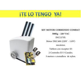 Kit Mortor Neo E5 Para Porton 500kg Uso Liviano, Oferta