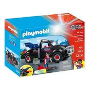 Camion Grua Playmobil Con Gancho Y Accesorios 5664 City Act