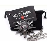 Dije The Witcher, Medallon, Collar, Regalo Negro