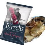 Tyrrells Batatas Chips Pimenta Reino Importado Inglaterra