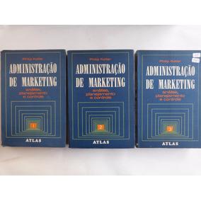Livro: Administração De Marketing - 3 Volumes/ Philip Kotler
