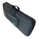 Capa (bag) Couro New Keepers Teclado 6/8 Preta