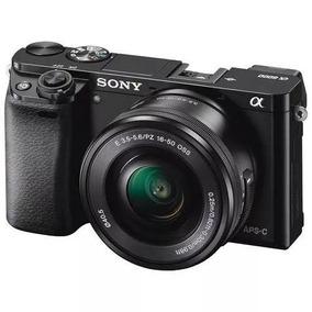 Câmera Mirrorless Sony Alpha A6300 16-50mm 4k Nota Fiscal