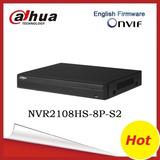8ch Dahua Nvr Nvr2108hs-8p-s2 Poe Full Hd 1080p Grabador De
