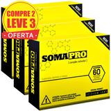 3 Somapro 60 Comp. Original - Antigo Somatrodol Frete Gratis