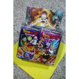 Paquete De Cartas Dragon Ball Z Coleccionables