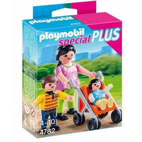 Playmobil 4782 Mama Con Niños Original