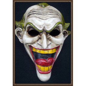 Máscara Jocker Caricatura/comic