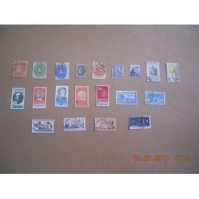 Estampillas Postales De Mexico