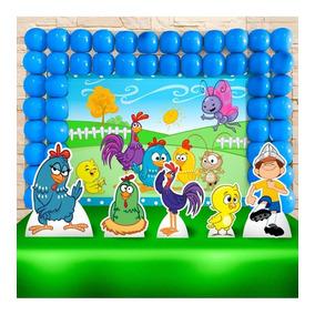 Kit Aniversário Festa Criança Galinha Pintadinha
