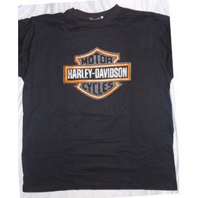 Camisa Camiseta Blusa Customizada Harley Davidson Shield