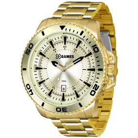 e65f2c2101b Relógio Big Dourado Minas Gold - Joias e Relógios no Mercado Livre ...