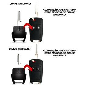 Chave Canivete Oca Gm Adaptação 2 Botões Celta Prisma Outros