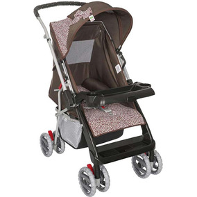 Carrinho De Bebê Berço Thor Rosa Onça Tutti Baby