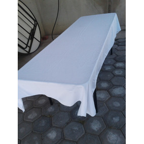 Mantel Para Tablón 3x1.50 Mt, Mesa Rectangular
