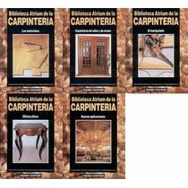Biblioteca Atrium De Carpinteria 5 Tomos (versión Digital)