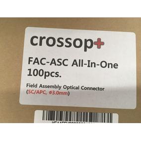 Conector De Fibra Optica Sc/apc (3.0mm) Caja Con 100 Pz.