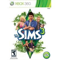 The Sims 3 (mídia Física) - Xbox 360 (novo)
