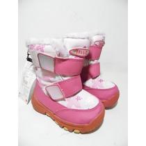 Botas Nieve Frio Agua Niña Thinsulate 5usa 12cm G781