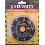 Disco Diamantado Corte Seco 4 1/2 Security Al Mayor X 12