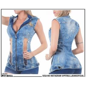 Colete Jeans Pit Bull Jeans Original - Ref. 24644