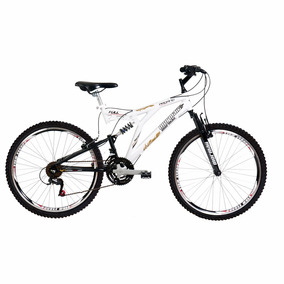 Bicicleta Aro 26 Full Padang Mormaii Alum. + Shimano + Susp.