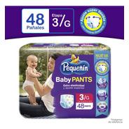Pañal Pequeñin Baby Pants Et3 X48