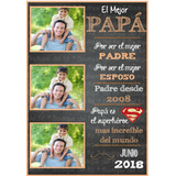 Kit Imprimible Cuadros Dia Del Padre
