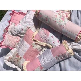 Souvenirs Almohadones . Estilo Shabby Chic-patchwork