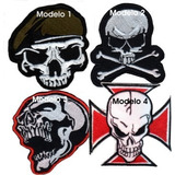 Parches Bordados Kiss Guns Motorhead Ramones Judas Maiden