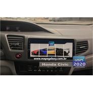 Atualização Gps Central Multtimídia Honda Civic 2020