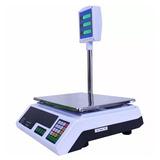Balanza Digital Pantalla Lcd Hasta 40kg C/columna Visioneer
