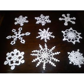adornos navideos crochet artesanal