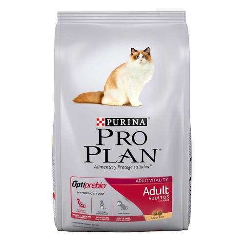 Alimento Pro Plan Adult para gato adulto sabor pollo/arroz en bolsa de 1kg