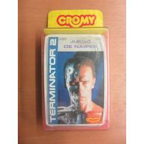 Cartas Cromy Terminator 2