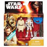 Figuras De Acción Clon Commander Cody Y Obi Wan 10cm Orig!!