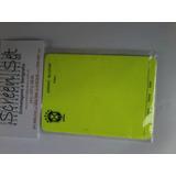15 Pares De Cartões De Árbitro Personalizados R$ 95,00