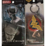 Llavero Batman Wolverine Wonder Woman Dc
