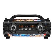 Caixa Amplificadora Mondial Mco-08 ,entradas Usb, 100w Rms