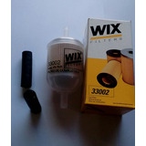 Filtro Gasolina Universal Marca Wix Para Manguera 5/16