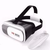 Óculos Vr Box 2.0 Realidade Virtual 3d Android Controle Wifi
