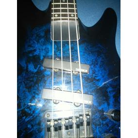 Bajo Samick Artist Series Activo Con Funda Fender