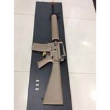 Rifle Airsoft G&g Fino M16 Balin 6mm Rafaga Militar Gear Met
