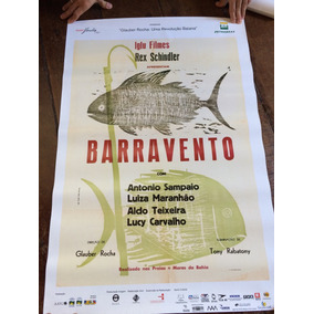 Pôster Filme Barravento - Glauber Rocha