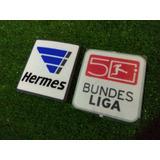 Set 2 Parches Bundesliga Bayern Munich 2012-2013 $22mil*