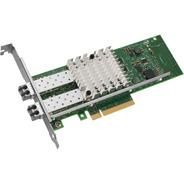 Placa De Rede Intel 10gbe X520-sr2 Ñ X520-da2 E10g42bfsr